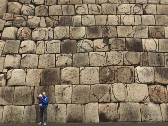 Beautiful stone wall, Imperial Palace