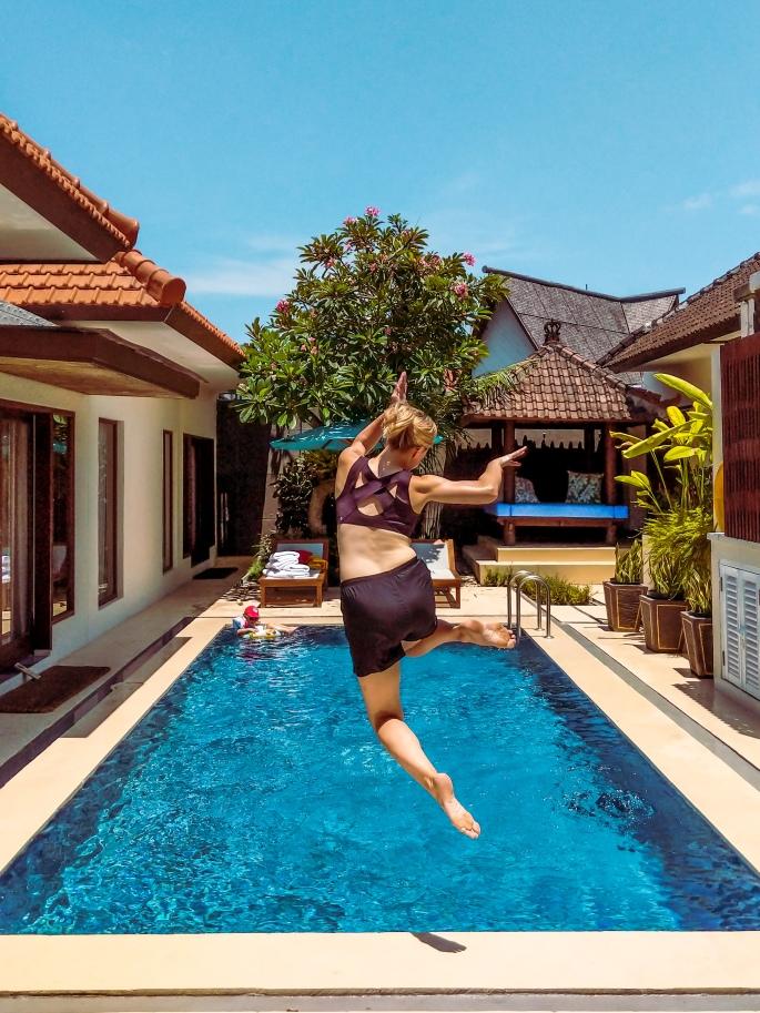 jump in pool edit
